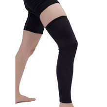 Universal 48~52cm Men Black Cooling Sport Cover Leg Knee Protector Basketball Football Sleeve Leg Guard