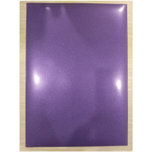 "(A4*8 pcs) Glitter Purple Cuttable PU Flex Vinyl A4 Size 20""*39.37"" Heat Transfer Vinyl for Clothing Iron On Vinyl for Fabrics"