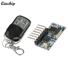 DC 12V 4 CH 433Mhz Key Fob RF Wireless Remote Control Switch Learning Code 4 Buttons Receiver Transmitter For Arduino Uno Module(China)