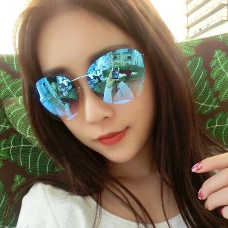 sexy Oculos De Sol Feminino Fashion Luxury Rimless Large Sunglasses Women UV400 Gradient Sun Glasses Lady Retro Star Style<br><br>Aliexpress