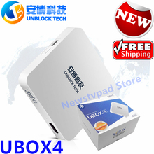 TVPAD Pk Unblock Ubox4 Android 5.1 TV Box UBOX3 pgraded IPTV Gen.3 S900 Pro UBTV Smart TV Box HD 4K 16gb Network Media Player