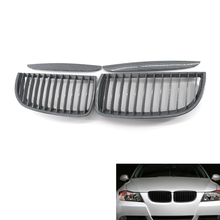 Racing Front Center Wide Kidney Grille Carbon Fiber for BMW E90 E91 05-08