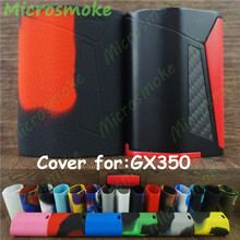 1pc  Smok GX350 kit TC box mod silicone case free ship skin sleeve enclourse cover thicker decal rubber 19 colors 350w box mod