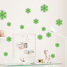 New Wall Sticker Frozen Snow Flakes Vinyl Art Wall Quote Decal Sticker Removable(China)