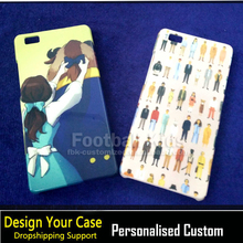 Professional personalized custom cell phone cover case for HUAWEI P6 P7 P8 P8lite P9 P9lite P9plus
