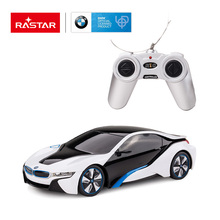 Rastar licensed BMW I8 remote control rc drift car 1:24 scale mini rc car toy car rc model 48400(China)