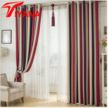 Tiyana Cheap Striped Modern Design For Living Room Bed Room Kitchen Cloth Matching White Voile Tulle Window Curtains WP341 #20