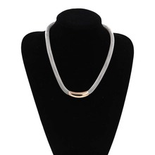 Necklace Jewelry Necklace &Pendant Bijoux 2016 New Gold Silver Collier Femme Women Fashion Colares Collane Jewellery Accessories