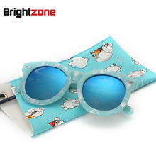 New Pattern Children Glasses Cool Polarized Light Sunglasses Male Girl Restore Ancient Ways Sunglasses oculos de sol gafas(China)