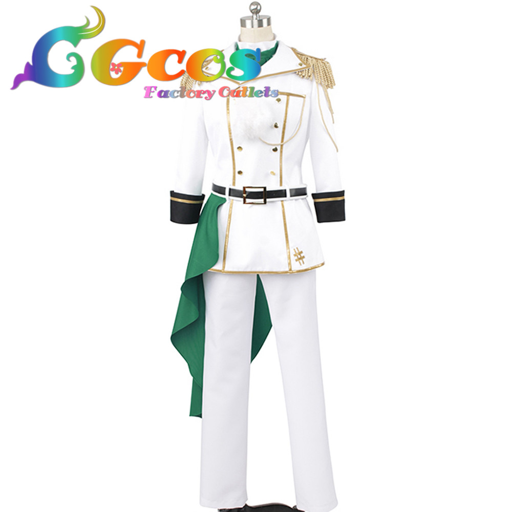 CGCOS Free Shipping Cosplay Costume Idolish 7 Yamato Nikaido Uniform New in Stock Retail/Wholesale Halloween Christmas