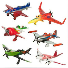 6pcs/set pixar planes dusty planes 2 ishani skipper Ripslinger airplane plane model gifts doll classic toys for children