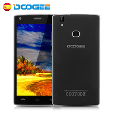 Doogee X5 MAX Mobile Phone 5 Inch 1280x720 HD MTK6580 Quad Core Andriod 6.0 1GB ROM 8GB RAM 8MP CAM Fingerprint 3G Smartphone
