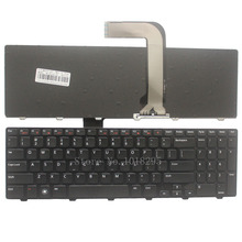 New laptop Keyboard for Dell Inspiron 15R N5110 M5110 N 5110 US Black English laptop keyboard(China)