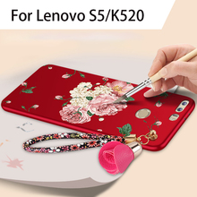 Buy lenovo S5 case Silicone Soft Tpu 360-degree protection shock-proof cases Lenovo s5 k520 silicone 3D Flowers phone cover for $4.59 in AliExpress store
