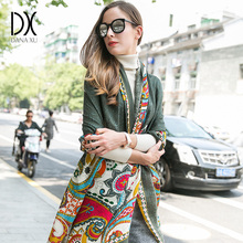 2017 New fashion Winter Scarves Wool Ring Scarf Women Fashion Pure Warm Unisex Neck Woolen Winter Scarf Hijab Bandana Poncho(China)