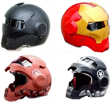 Free Shipping  MASEI  610 half helmet motorcycle helmet  full helmet  IRONMAN Iron Man America DOT security certification