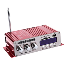 HY-502S 2CH Bluetooth Hi-Fi Super Bass Output Power Stereo Amplifier with Remote Controller USB/SD Card Player FM Radio