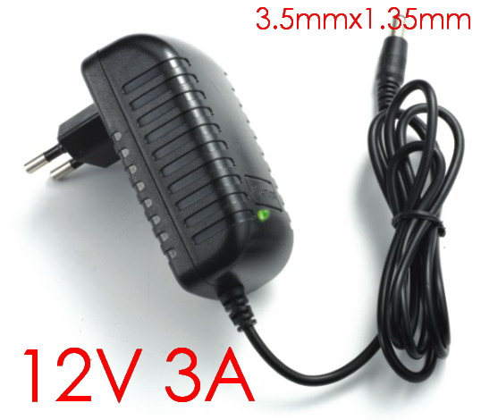 1PCS High quality 12V 3A 36W Tablet Battery Charger AC Adapter for Cube i7 Cube i9 tablet pc Power Supply Adapter 3.5mmx1.35mm(China)