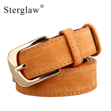 Design Direct Selling High Quality Womens Wide Belts Moda 2017 Femenina Vintage Female Leather For Jeans Cintos De Mujer F104(China)