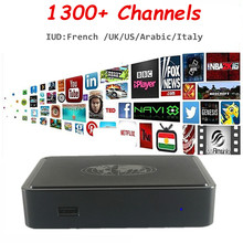 IUDTV Mag254 IPTV Box Support 1300+ Channels French Arabic Italy Indian UK US DE Sports Kids Linux OS MAG 254 Set Top Box
