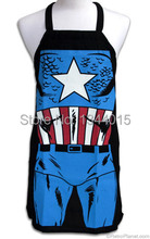 American Captain Apron Personalized Home Novelty Aprons Funny Gift