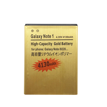 High quality EB615268VU 2500mAh Replacement golden Battery For Samsung GALAXY Note 1 GT-N7000 N7000 GT-I9220 I9220 mobile phone