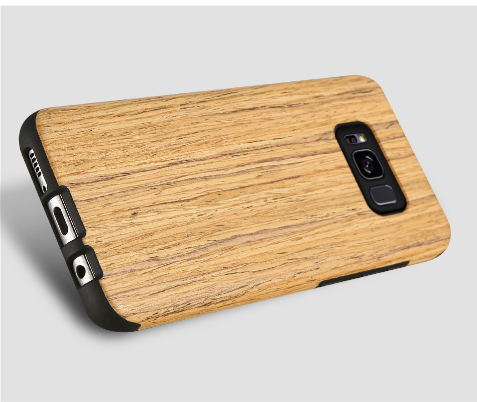 wood pattern soft tpu case for samsung s8 s8 plus (18)