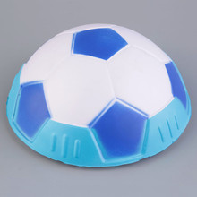 2017 Newest Hover Ball for Kids Indoor Safe Fun Soft Gliding Floating Foam Soccer Football blue green red 3colors(China)