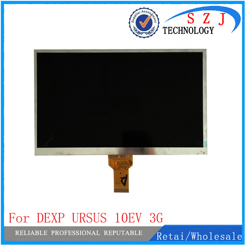 New 10.1 inch case For DEXP URSUS 10EV 3G TABLET Inner Lens LCD Display Screen Glass Matrix Replacement Parts<br>