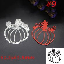 1 Pc Pumpkin Halloween Carbon Steel Cutting Dies Stencil DIY Scrapbooking Paper Album Decoration Embossing Cards Craft Nice Gift(China)