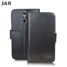 For Vernee Thor Luxury Wallet Flip Leather Case For Vernee Thor 5.0 Inch Protective Mobile Phone Case Cover Accessories(China)