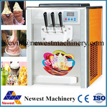 Electric Soft Ice Cream Maker Machine commercial with Top quality for factory price/Sundae ice cream making machinery