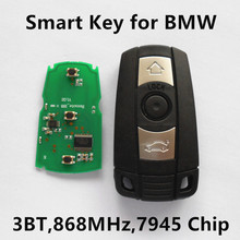 Car Smart Remote Key for BMW 1 3 5 6 series X1 X5 X6 Z4 868MHz CAS3 System Keyless Entry Controller Electronic Chip