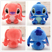 Buy Kawai Stitch Plush Doll Toys Anime Lilo Stitch 50cm Stich Plush Toys Children Kids Birthday Gift for $15.10 in AliExpress store