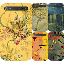 New Fashion Oil Surrealism Painting Hard Plasitc Case For Blackberry Classic Q20 Back Cover Case Painting Protective Shell