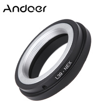 Best-selling Original Andoer Adapter Mount Ring Lens Adapter for Leica L39 Mount Lens to for Sony NEX E Mount NEX-3 NEX-5 Camera