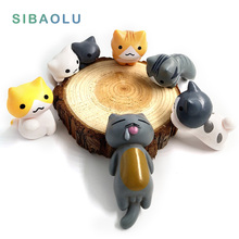 Fantasy Fairy Garden Decoration Crafts Home Decor Fashion Cute Cartoon Cute Wealth Lucky Cat Micro Landscape Miniature Figurines(China)