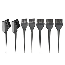 7pcs Professional Hair Coloring Comb Kit Hair Dyeing Brushes Set Double-sided Hair Tint Tool Home DIY Hairstyling Accessory(China)