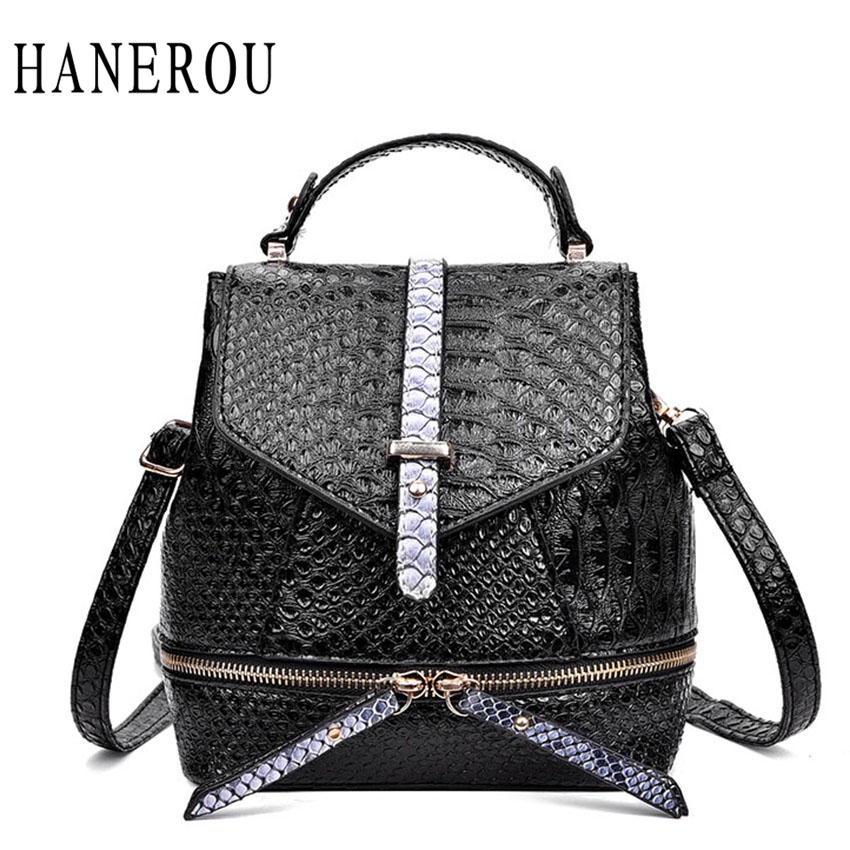 Fashion Alligator Backpack Women Hot Selling Preppy Style School Bags For Teenagers High Quality PU Leather Travel Bag Sac A Dos<br><br>Aliexpress