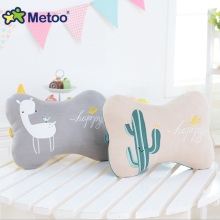 Metoo Office Multi- function Neck Pillow Toys Car Neck Pillow Animal Doll Seat Cushion for Office Chair Can Be Removable(China)