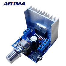 Buy AIYIMA 1Pc 2.0 Stereo Amplificador TDA7297 Amplifiers Audio Dual Channel 15W+15W Amplifier Board DIY Home Theater for $5.10 in AliExpress store