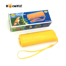 DEIRYLE Ultrasonic Dog Repeller Portable 3 In 1 Ultrasound Repeller,Anti Barking Dog Training Device(China)