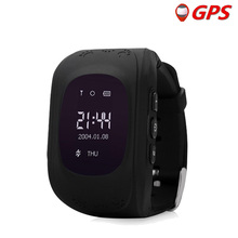 Q50 smart health baby watch GPS tracker for kids safe SOS Call Anti Lost reminder by apple android phone Child clock PK Q90 Q100