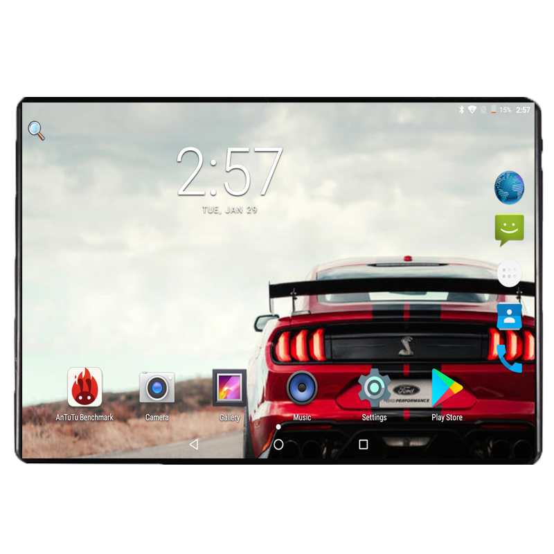 2019 Newest 4G FDD LTE 10 inch Octa Core tablet pc 4GB RAM 64GB ROM Dual SIM Cards 5MP 1280*800 IPS Android 8.0 GPS Tablet 10.1(China)