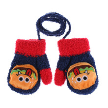 1Pair New Fashion Kids Girls Boys Child Gloves Winter Warm Stretchy Knitted Mittens(China)