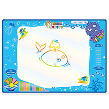 New Art and Craft Toy For Children Water Drawing Painting Writing Mat Board Magic Pen Doodle Gift 100cmX70cm Aqua Doodle