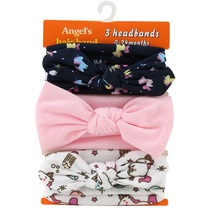 3PCS/Set Fashion Kids hair bands Girls Headband Mix Styles Dots Headwear Flower Bowknot Hair Band Accessories(China)