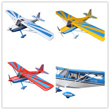 "Buy Decathlon 72"" Glow & Electric model Plane 4 Channels ARF RC Balsa Wood Airplane multi colour for $208.91 in AliExpress store"
