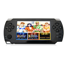 4.3 inch Touch Handheld Game Console 8GB MP3 MP4 Player Portable Video Game Console With Free Games Ebook Camera Support TF Card(China)