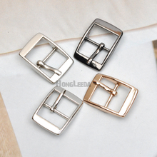 DIY 20pcs/lot metal 14mm shoe buckle pin alloy belt buckle high polished silver/black/gold Bag accessories free shipping BK-037(China)